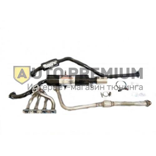 Выпускной комплект ВАЗ 2190 Гранта 8v 1,6л с глушителем