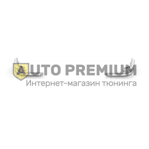 Защита заднего бампера двойная угловая Ø63/51мм (НПС) UAZ Patriot с 2014